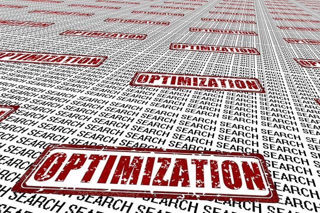 rychlá optimalizace
