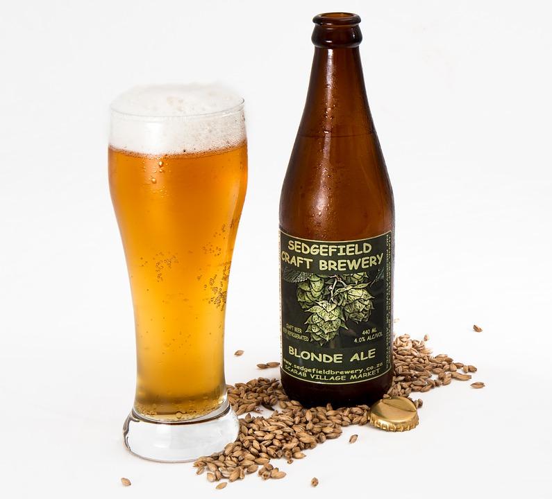 pivo v lahvi